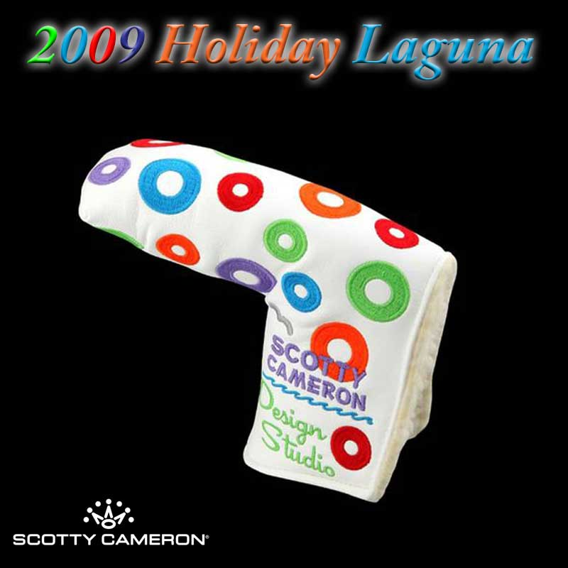 【世界750本リミテッド】【新古品】2009 ホリデイ ラグーナ リミテッド パター スコッティキャメロン 2009 Holiday LAGUNA Limited SCOTTY CAMERON