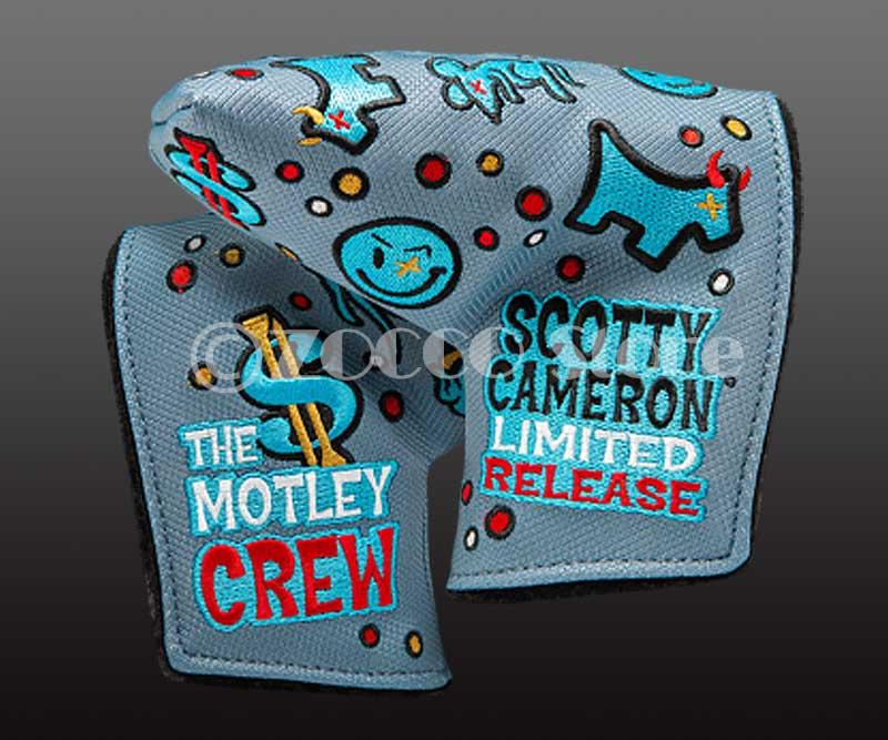 【在庫限り】【期間限定終了モデル】カスタムショップ期間限定 モトリー・クルー - ミッドマレット ヘッドカバー スコッティキャメロン Limited Custom Shop MOTLEY CREW - Mid Mallet Headcover SCOTTY CAMERON