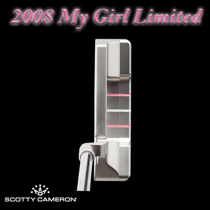 【世界750本リミテッド】【新古品】2008 マイガール リミテッド パター スコッティキャメロン 2008 My Girl Limited Putter SCOTTY CAMERON