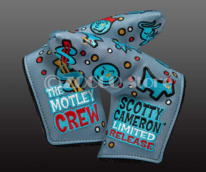 【在庫限り】【期間限定終了モデル】カスタムショップ期間限定 モトリー・クルー ヘッドカバー スコッティキャメロン Limited Custom Shop MOTLEY CREW - Headcover SCOTTY CAMERON