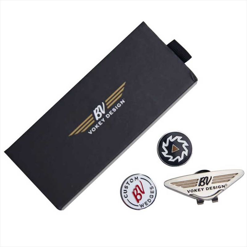BV Wings Headwear Clip & Ball Marker Kit ボーケイ クリップマーカーセット