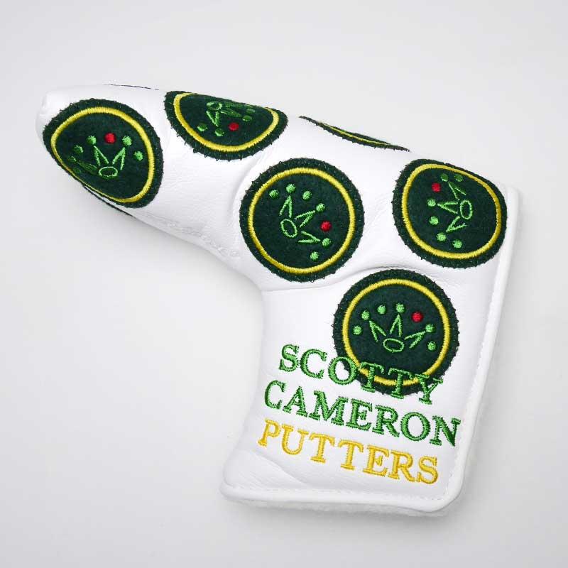 【新古品】2012 マスターズ限定パターヘッドカバー - ホワイト - スコッティキャメロン SCOTTY CAMERON