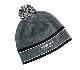 【SALE】VOKEY DESIGN Limited BV Wings Pom Pom Beanie - Charcoal ボーケイ ポンポンニット帽 チャコールグレイ
