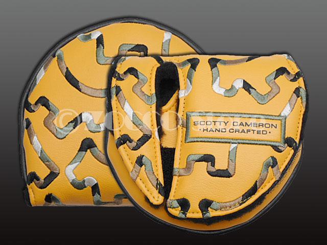SC Gallery Limited X5/X7/5W/7M Headcover - Camo Dog Orange - スコッティキャメロン ヘッドカバー