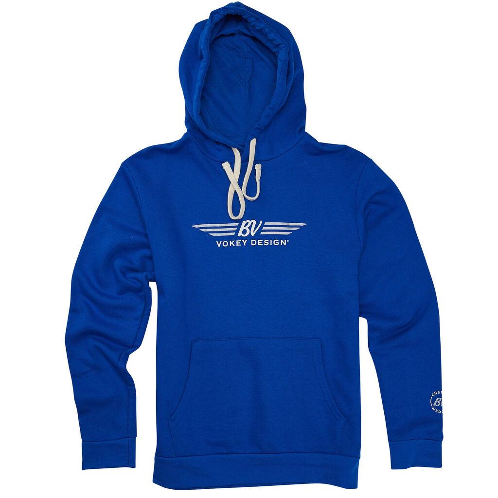ボーケイデザイン BVウィング パーカー - ロイヤルブルー Vokey Design BV Wings Hoodie - Royal Blue