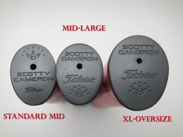 【メーカー製造終了品】【正規品】マタドール オーバーサイズグリップ ブラック スコッティキャメロン Matador Grip - XL - Oversize - Black SCOTTY CAMERON