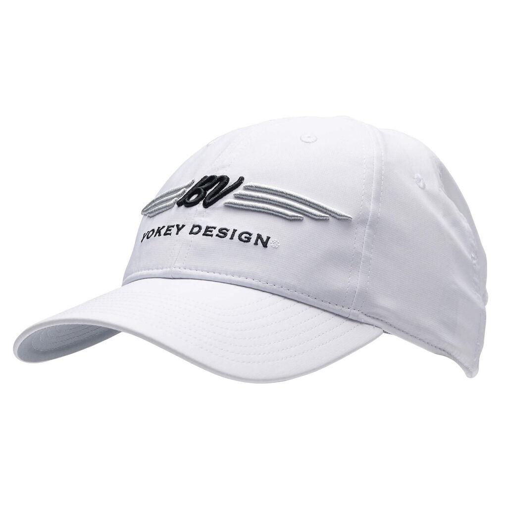 【数量限定品】ボーケイ デザイン BV ウィング SM8 ツアーパフォーマンス キャップ - ホワイト Vokey SM8 Tour Performance Cap - White/Black/Silver