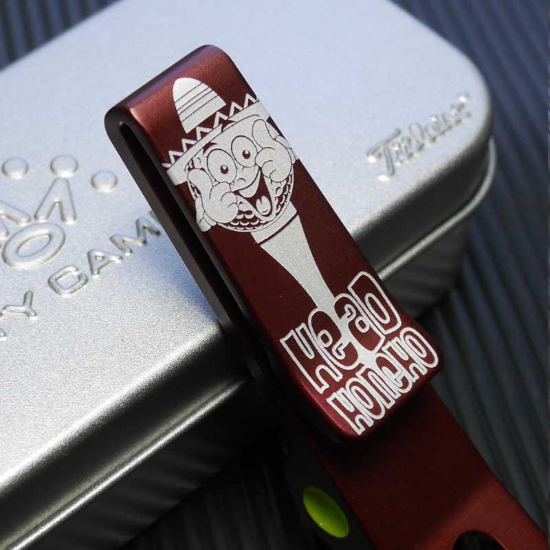 【カリフォルニアギャラリー限定】ピボットツール ヘッドホンチョ - レッド スコッティキャメロン Clip Pivot Tool - Gallery Limited - Head Honcho - Red SCOTTY CAMERON