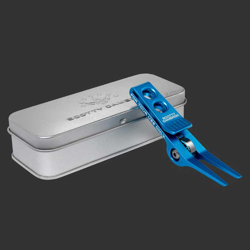ローラークリップ ピボットツール - ミステッドターコイズブルー SCOTTY CAMERON Roller Clip Pivot Tool - Misted Turquoise[102296]