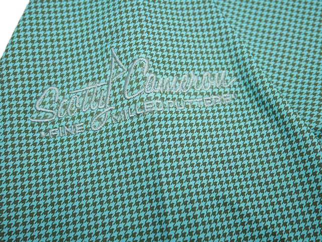 【カリフォルニアギャラリー限定】SCOTTY CAMERON SCOTTY DOG BARCELONA JACKET Green スコッティキャメロン バルセロナ ジャケット 千鳥格子 グリーン
