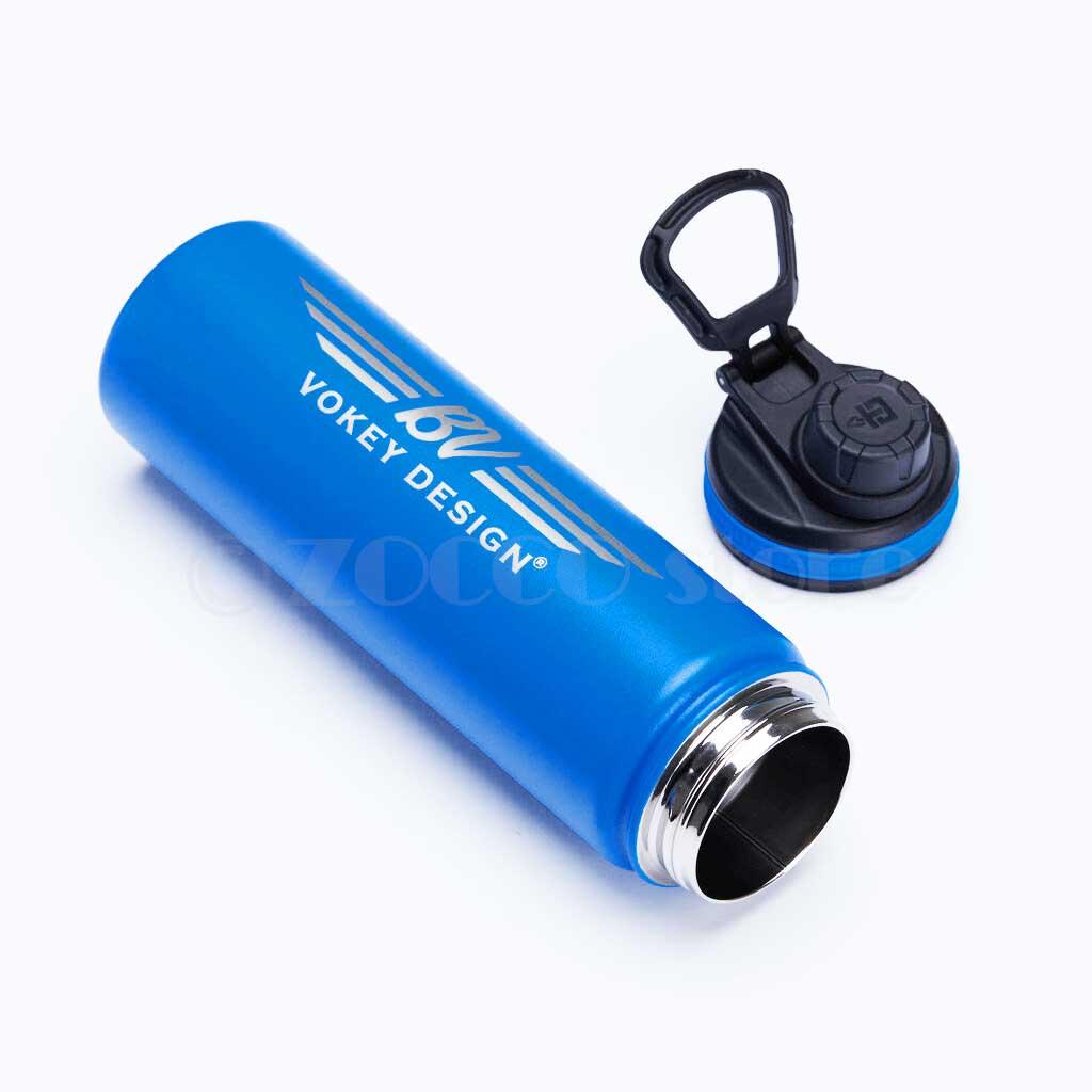 【数量限定品】ボーケイ ステンレス ボトル22オンス(約625ml) ブルー Vokey BV Wings Stainless Steel Sport Bottle - Blue