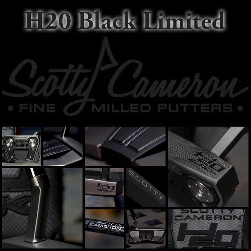 【即納・送料無料】【世界1500本限定】【日本仕様】 2020 ホリデイ H20 ブラック リミテッドパタースコッティキャメロン H20 BLACK LIMITED Putter SCOTTY CAMERON