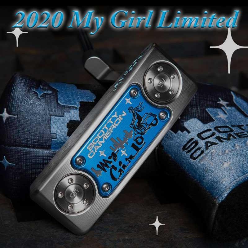 【即納・送料無料】【世界1250本限定品】【日本仕様】2020 マイガール リミテッドパター スコッティキャメロン 2020 My Girl Limited Putter SCOTTY CAMERON