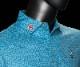 【M・Lサイズ在庫有】カリフォルニアギャラリー限定 ジャックドンキー ポロシャツ - スペインタイルプリント - レイクブルー スコッティキャメロン SCOTTY CAMERON Polo Shirt - Jack the Donkey - Tour Tech Stretch Fabric - Printed Spanish Tiles - Lake Blue