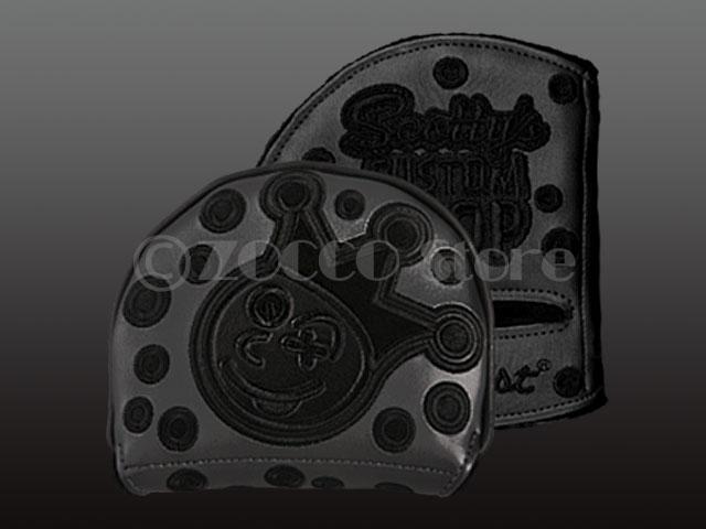 【メーカー製造終了モデル】 Customshop X5/X7/5W/7M LH Headcover - Jackpot Johnny - Triple Black SCOTTY CAMERON スコッティキャメロン カスタムショップ レフティヘッドカバー