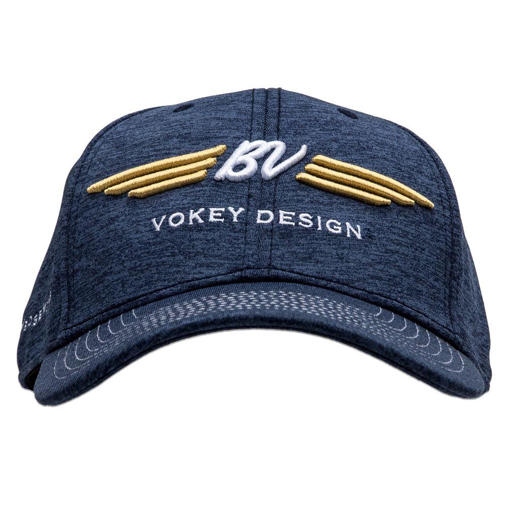 【SALE】【数量限定品】BV Wings Space Dye Cap - Navy ボーケイ 限定キャップ ネイビー