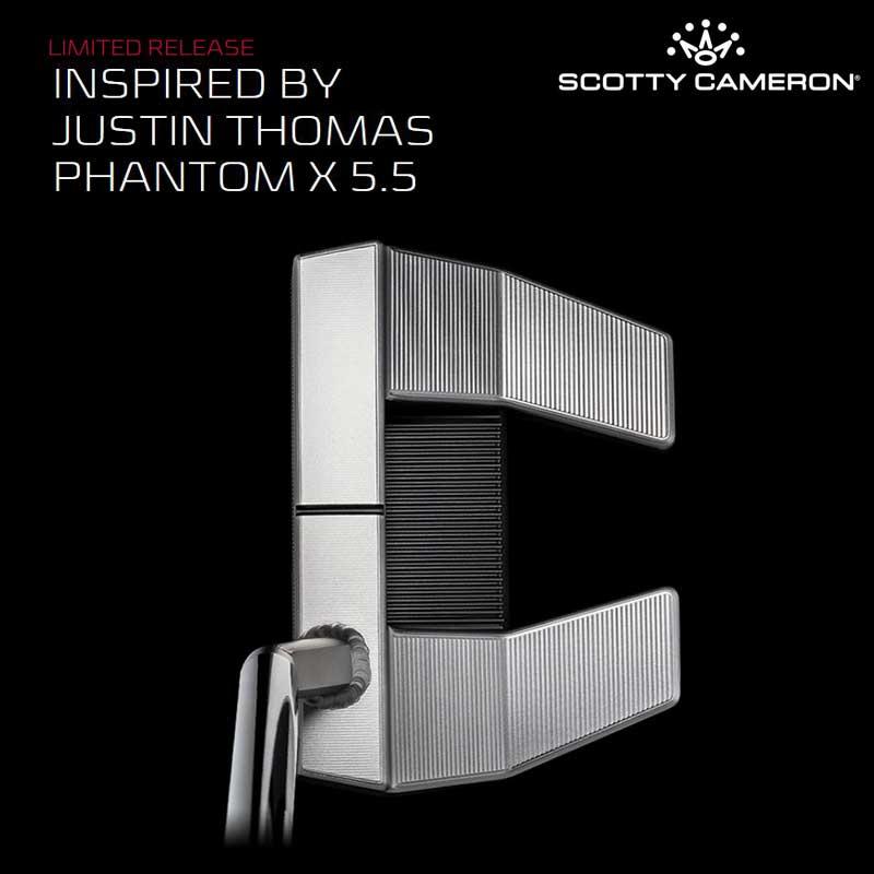 【ラスト1本】【世界2020本限定・34.5インチ】【日本仕様】ファントム X 5.5 インスパイヤー バイ ジャスティントーマス リミテッドパター スコッティキャメロン INSPIRED BY JUSTIN THOMAS PHANTOM X 5.5 Limited Putter SCOTTY CAMERON