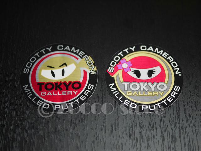 【レア】Old Tokyo Gallery Sticker Set - WASABi&GINGER SCOTTY CAMERON スコッティキャメロン ステッカー セット - ワサビ&ジンジャー