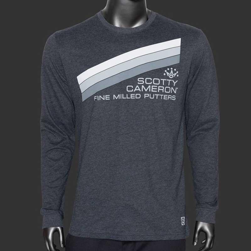 2020 サンクスギビング グレイストライプ 長袖Tシャツ スコッティキャメロン SCOTTY CAMERON