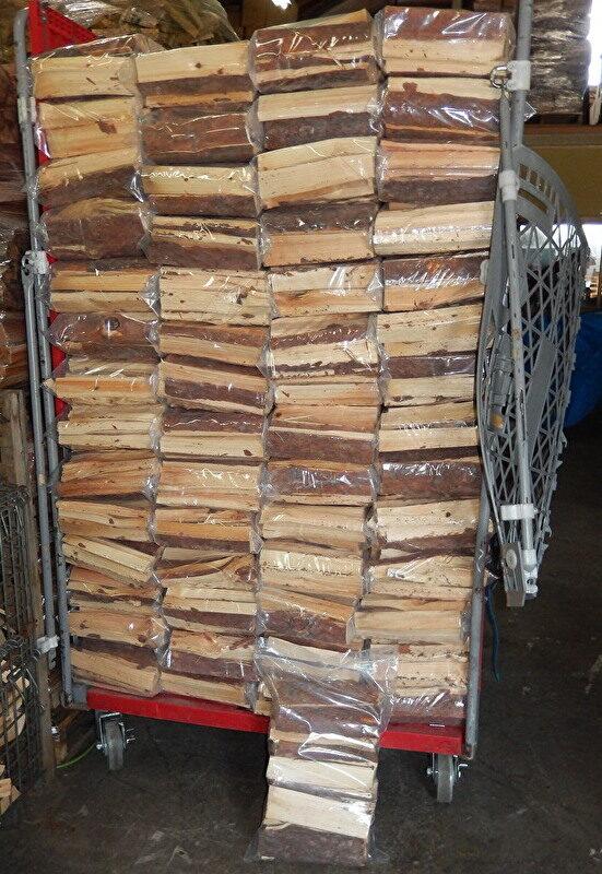 マツ材能登薪 小割り25cm(約500�)