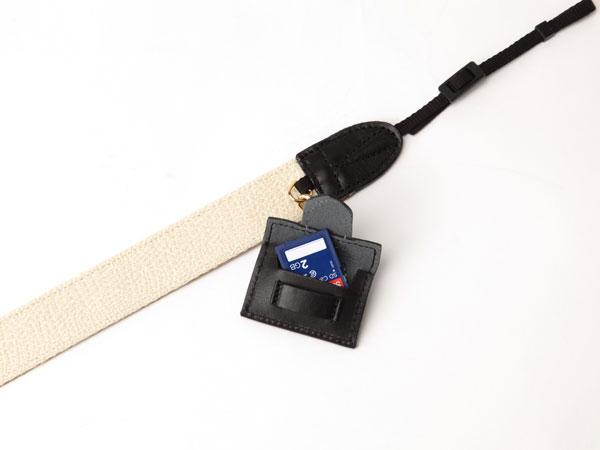 【アウトレット】バイカラーと刺しゅうがおしゃれなカメラストラップ 3WC-EM102