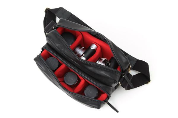 牛革カメラバッグ 上品なデザイン GCAM-1000