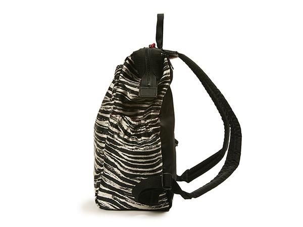 【30%off】ワイドオープン・大きめリュック<Zebra Chic(ゼブラ・シック)>KG2ZB-704