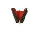 ショルダーとしてもクラッチとしても使用可能2WAYウォレットポーチ<Valiant Rouge(ヴァリアント・ルージュ)>9WS-LI04