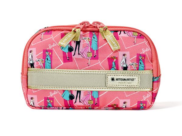 ミニマムサイズのスロープシェイプ・ポーチ<Barbie:Authentic Series(バービー:オーセンティック・シリーズ)>XWP-TB111