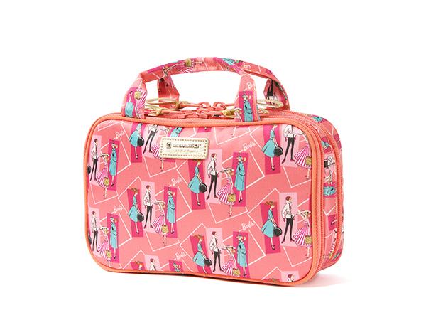 【新型】リップスティック&パレットのスマートポーチ<Barbie:Authentic Series(バービー:オーセンティック・シリーズ)>XWP-TB628