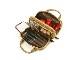 ビューラーポケット付きポーチ<Shiny Golden Quilt(シャイニー・ゴールデン・キルト)>9WP-PC02