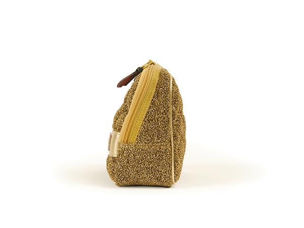 スロープシェイプ・ポーチ<Shiny Golden Quilt(シャイニー・ゴールデン・キルト)>9WP-PC110H
