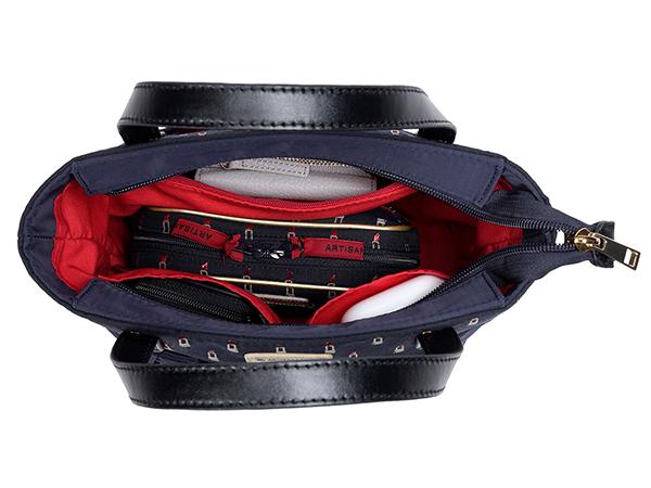ミニ・トートバッグ<Valiant Rouge (ヴァリアント・ルージュ)>1WB-LI192