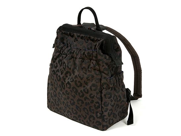 ワイドオープン・大きめリュック<Flashy Leopard(フラッシー・レオパード)>KG2LO-704