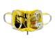 【WEB限定】タテ型収納のスクエアポーチ<Sleek Shine (スリーク・シャイン)>1OP-SS6092 イエロー