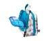 大きめサイズのスロープシェイプ・ポーチ<Sea Glass Flower(シーグラス・フラワー)>1WP-SG120