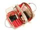 【新型】ビューラーポケット& アウターポケット付きポーチ <Tri-Dots(トリ・ドット)>XWP-DP22