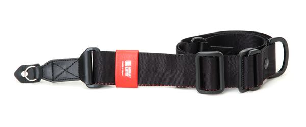 カメラストラップ 指一本で長さを調整・固定できる、幅広リングバージョン ACAM-E38R