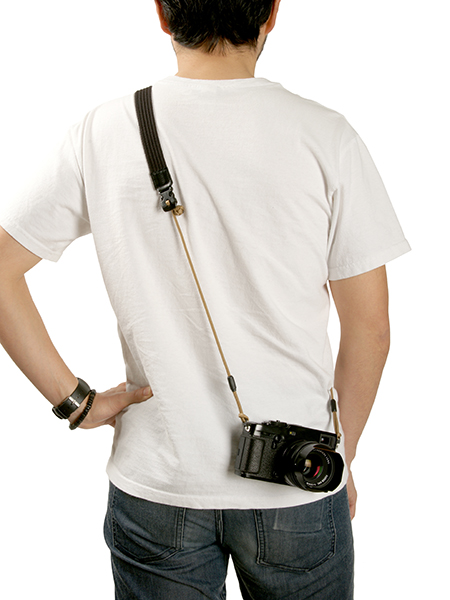 パラコード×アクリルテープネックストラップ <Flynn Camera Strap(フリン・カメラ・ストラップ)>ACAM-P25