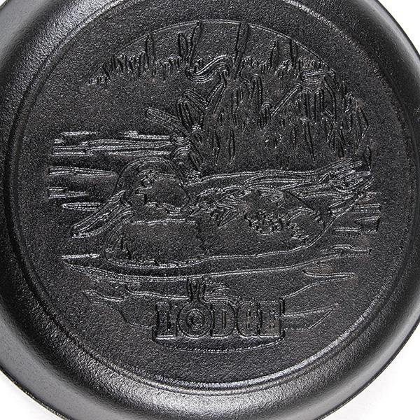 ロッジ スキレット 8インチ ダックロゴ L5SKWLDK