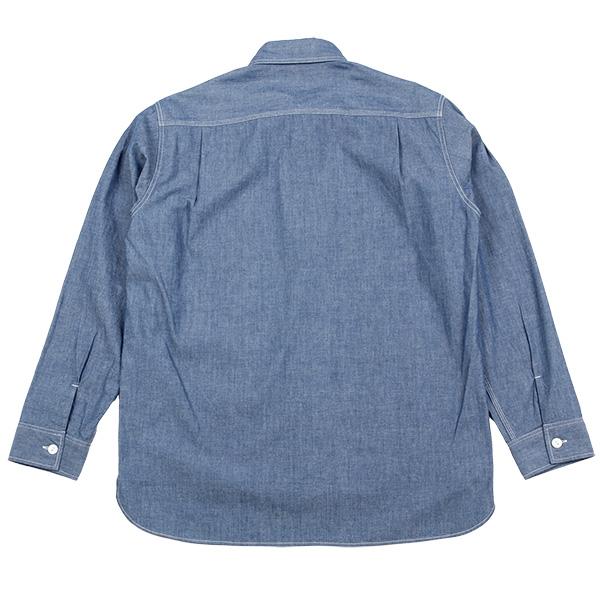 カブー メンズ ループシャツ ダンガリー
