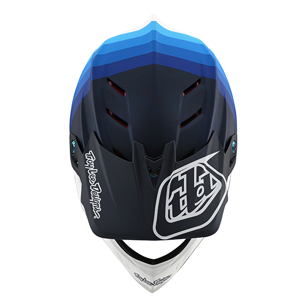 トロイリーデザインズ D4カーボン ヘルメット ミラージュ ネイビー/ホワイト