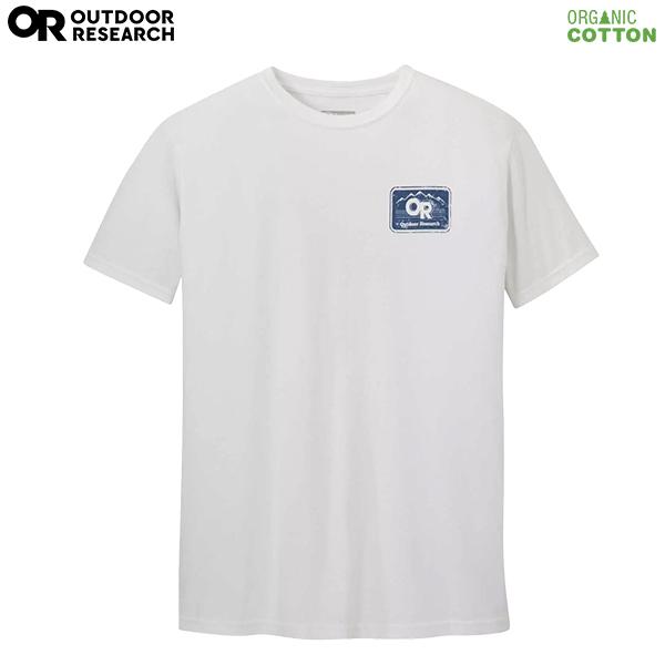 アウトドアリサーチ メンズ アドボケートボックスショートスリーブTシャツ ホワイト Mサイズ