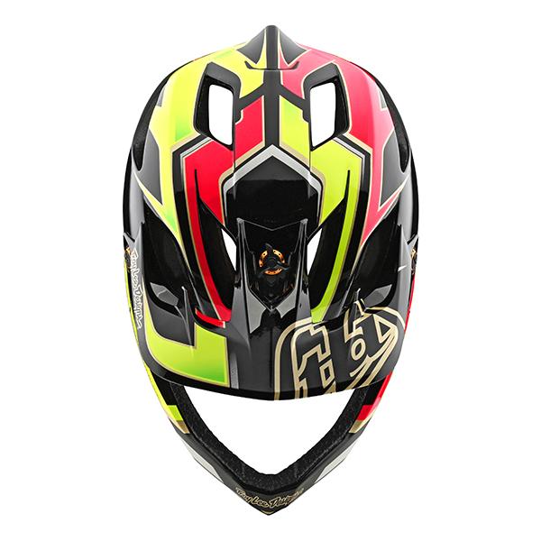 トロイリーデザインズ ステージ ヘルメット ロポ ピンク/イエロー