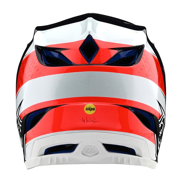 トロイリーデザインズ D4コンポジット ヘルメット フリーダム2.0 レッド/ホワイト