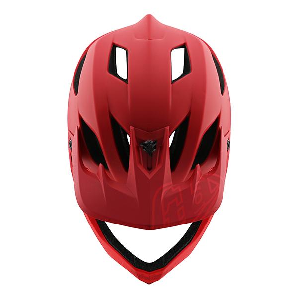 トロイリーデザインズ ステージ ヘルメット ステルス レッド