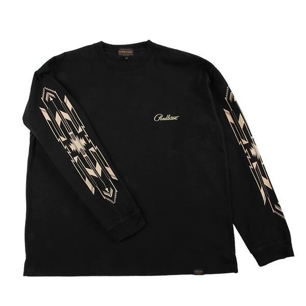 ペンドルトン メンズ ロングスリーブプリントTシャツ