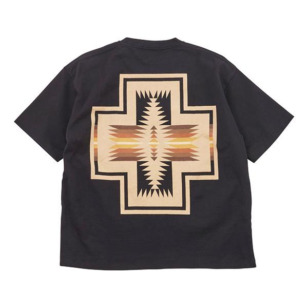 ペンドルトン メンズ ショートスリーブバックプリントTシャツ