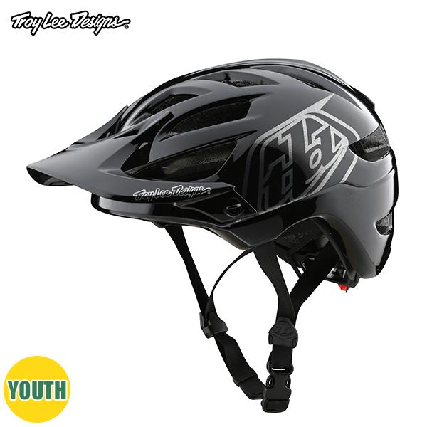 トロイリーデザインズ A1 ヘルメット ユース ドローン ブラック/シルバー