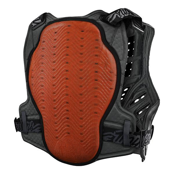 トロイリーデザインズ ロックファイト CE フレックス チェストプロテクター ソリッド ブラック